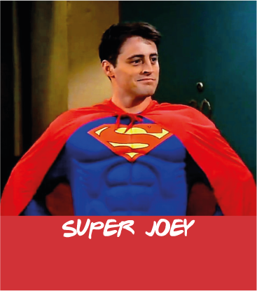 carta rossa guess who - friends edition - Joey